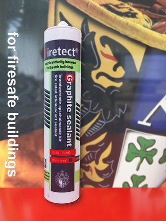 Graphite sealant | intumescent graphite mastic