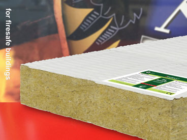 fire resistant rockwool slab for fire rated cable trays
