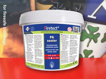 fire resistant putty paste