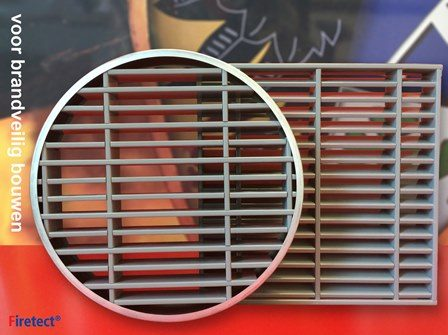 Air grill | fire rated air transfer grille